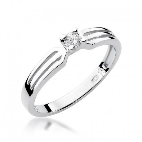 Prsten s diamantem W-226