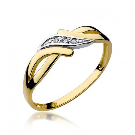Prsten s diamantem W-192