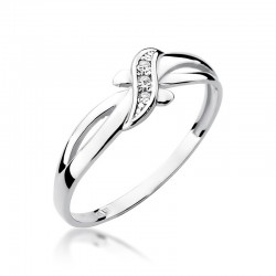 Prsten s diamantem W-193