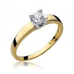 Prsten s diamantem W-225B