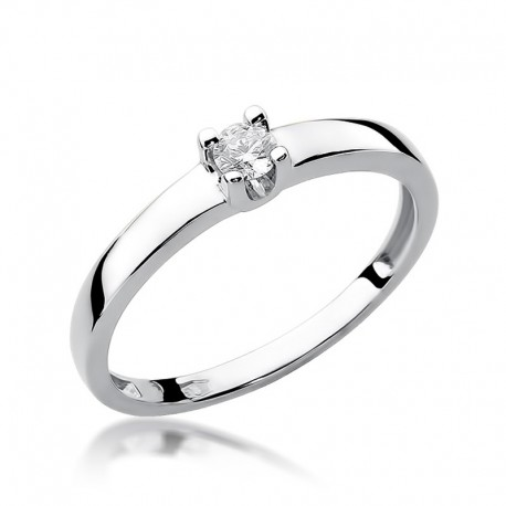 Prsten s diamantem W-225