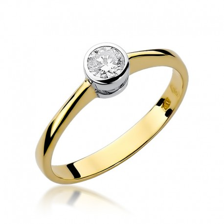 Prsten s diamantem W-224B