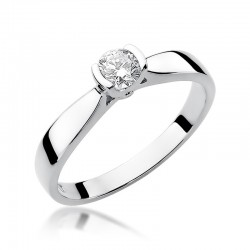 Prsten s diamantem W-223B