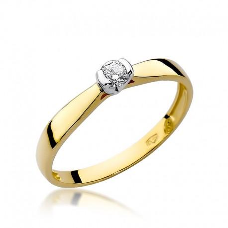 Prsten s diamantem W-223