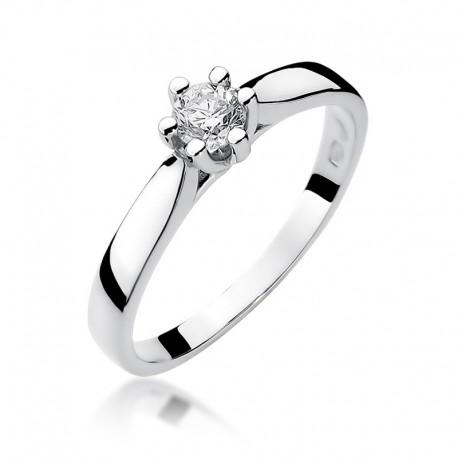 Prsten s diamantem W-222B