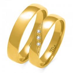 Snubní prsteny A-146