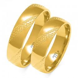 Snubní prsteny A-147