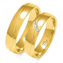 Snubní prsteny A-148