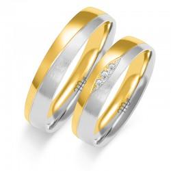 Snubní prsteny B-210