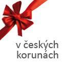 Dárkové poukazy v českých korunách